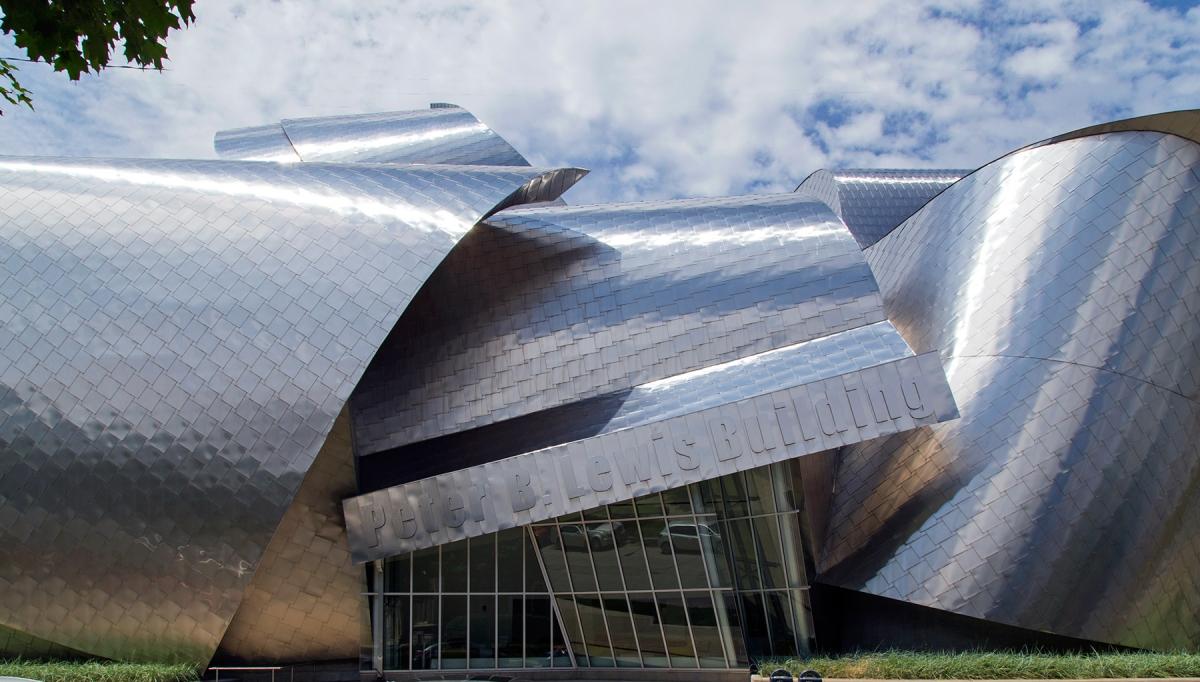 la arquitectura clásica de FrankGehry